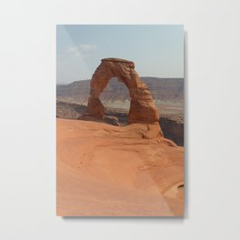 Delicate Arch, Fine Art Photography Metal Print
