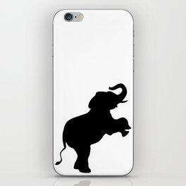 Elephant Silhouette iPhone Skin