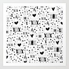 X.O.X. Art Print