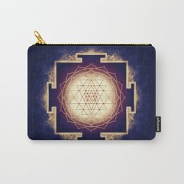 Sri Yantra IX Carry-All Pouch
