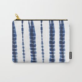 Indigo Blue Tie Dye Delight Carry-All Pouch