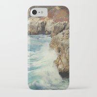 big sur iPhone & iPod Cases featuring Big Sur - Embrace me by Jenndalyn