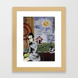 My summer in Poland Framed Art Print
