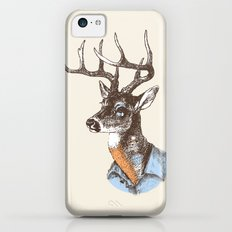 Lucienne the crying deer (with tattoos) iPhone 5c Slim Case