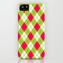 Hideous Argyle iPhone Case