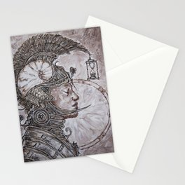 time warrior Stationery Cards