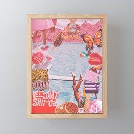 JUMP Framed Mini Art Print