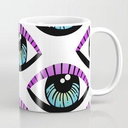Trippy Eye Pattern Coffee Mug