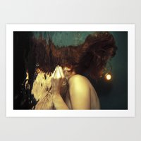 kozyndan Art Prints featuring Passing Through To the Other Side by kozyndan