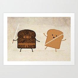 Slice! Art Print