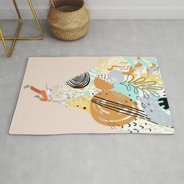 Better With Music Rug