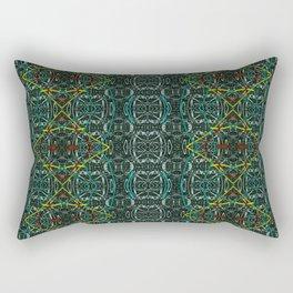 Abstract diamonds Rectangular Pillow