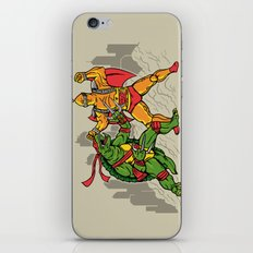 Teenage Mutant Gamera Ninja iPhone & iPod Skin