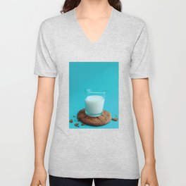 Cookie as a Coaster Unisex V-Neck
