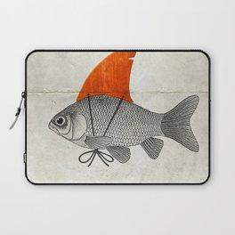 Goldfish with a Shark Fin Laptop Sleeve