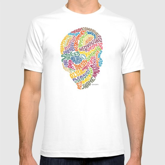 The inner workings of my mind! White! T-shirt