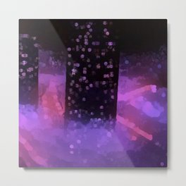 Chunky city scape Metal Print