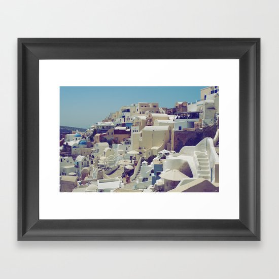 Oia, Santorini, Greece III Framed Art Print
