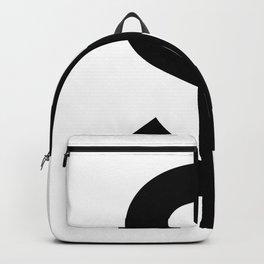 Dollar Sign (Black & White) Backpack