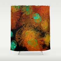 fireworks Shower Curtains featuring Fireworks by Imagology