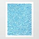 Blue Ripples by jessicafallis