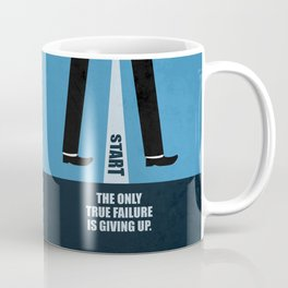 Lab No. 4 - The Only True Failure Is Giving Up Corporate Start-up Quotes Coffee Mug