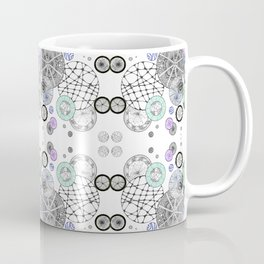 Space Doodles Pattern Coffee Mug
