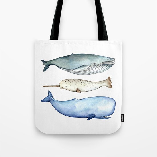 S'whale Tote Bag