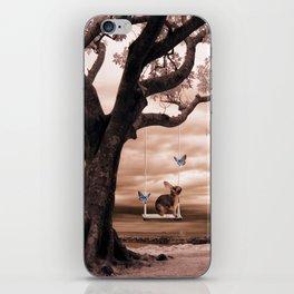 Woodland swing iPhone Skin