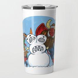 When Hell Freezes Over Travel Mug