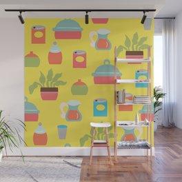 Bright Kitchen Wall Mural
