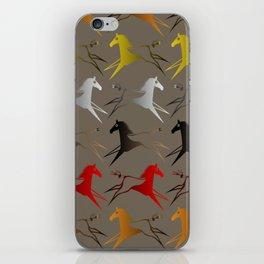 Native American War Horse iPhone Skin