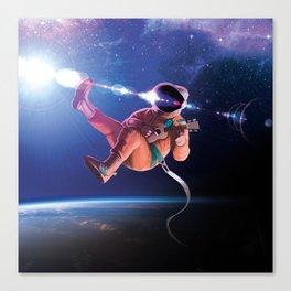 Space Uke  Canvas Print