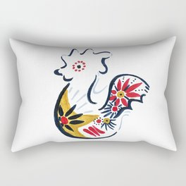 Chill Funky Chicken Rectangular Pillow