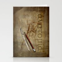 anatomy Stationery Cards featuring Anatomy by ArtAngelo