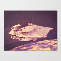 alien Canvas Prints featuring Alien by Timothy J. Reynolds