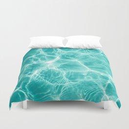 Pool Dream #1 #water #decor #art #society6 Duvet Cover
