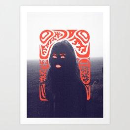 Anna in Fog Art Print
