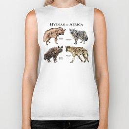 Hyenas of Africa Biker Tank