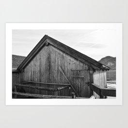 Boathouse No.2 Art Print