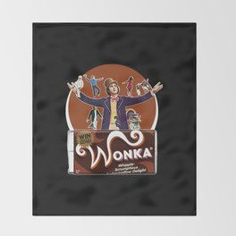 Willy Wonka - Gene Wilder Throw Blanket