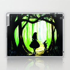 alice and rabbits Laptop & iPad Skin