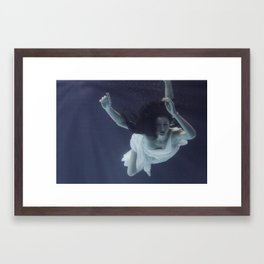 Astral Drift Framed Art Print