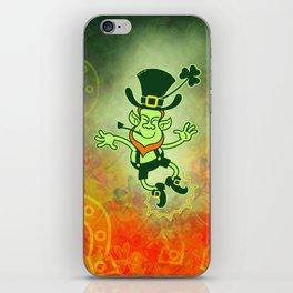 Leprechaun Clapping Feet iPhone Skin