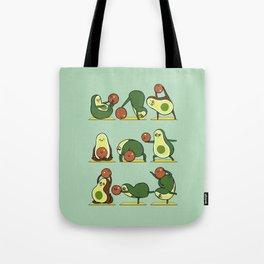 Avocado Yoga With The Seed Tote Bag
