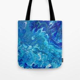 Dark Ocean Blue Tote Bag
