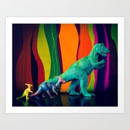 Dinos Art Print