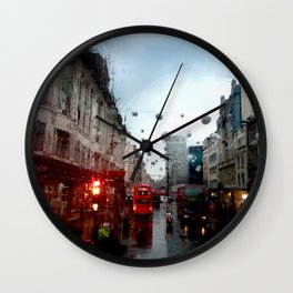 Cold London Morning Wall Clock