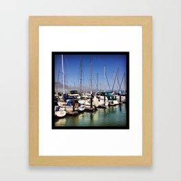 Pier 39 Framed Art Print