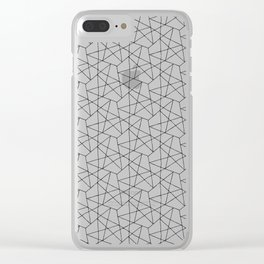 Scritchy Scratchy Clear iPhone Case